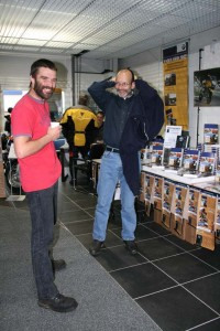 Book signing CW Motorcycles Dorchester