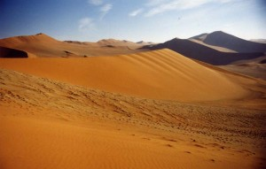 Namibian Sand dunes - the tallest in Africa