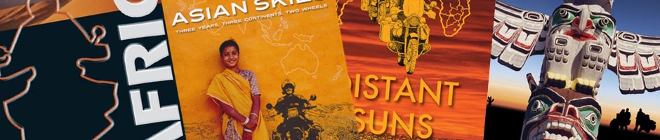 Adventure Motorcycle Travel Books by Sam Manicom