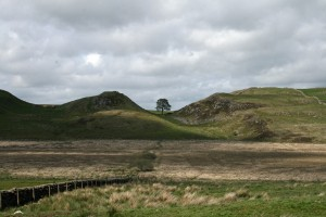 Hadrian's Wall, just a few miles away