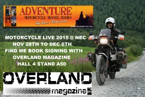 Book Signing at Motorcycle Live 2015