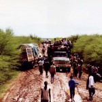 The dry end of the Moyale road - Kenya