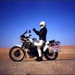Sam in the desert