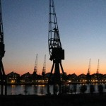 London Docklands at Dawn
