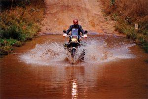 River crossing in Zimbabwe