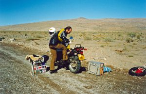 Puncture in the Desert - Chile